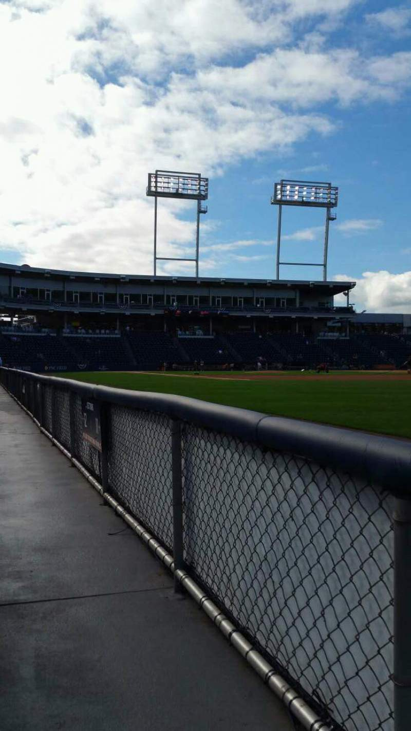 Seating view for PNC Field Section 11 Row 1 Seat 7