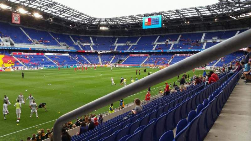 Seating view for Red Bull Arena (New Jersey) Section 113 Row 11 Seat 1