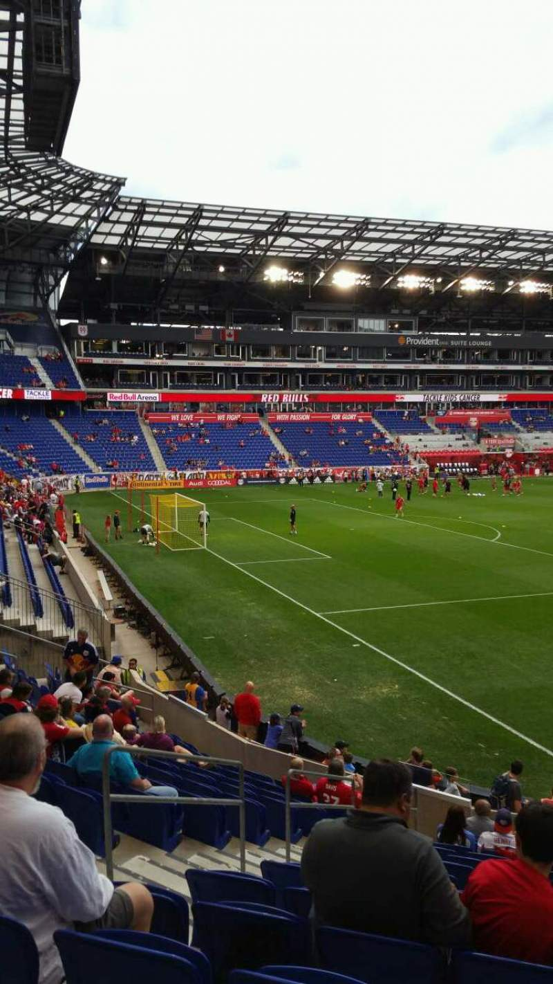 Red Bull Arena Section 130 Row 14 Seat 17 New York Red Bulls