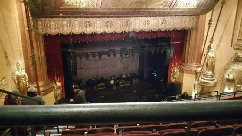 Seating view for Beacon Theatre Section UBALC1 Row F Seat 21