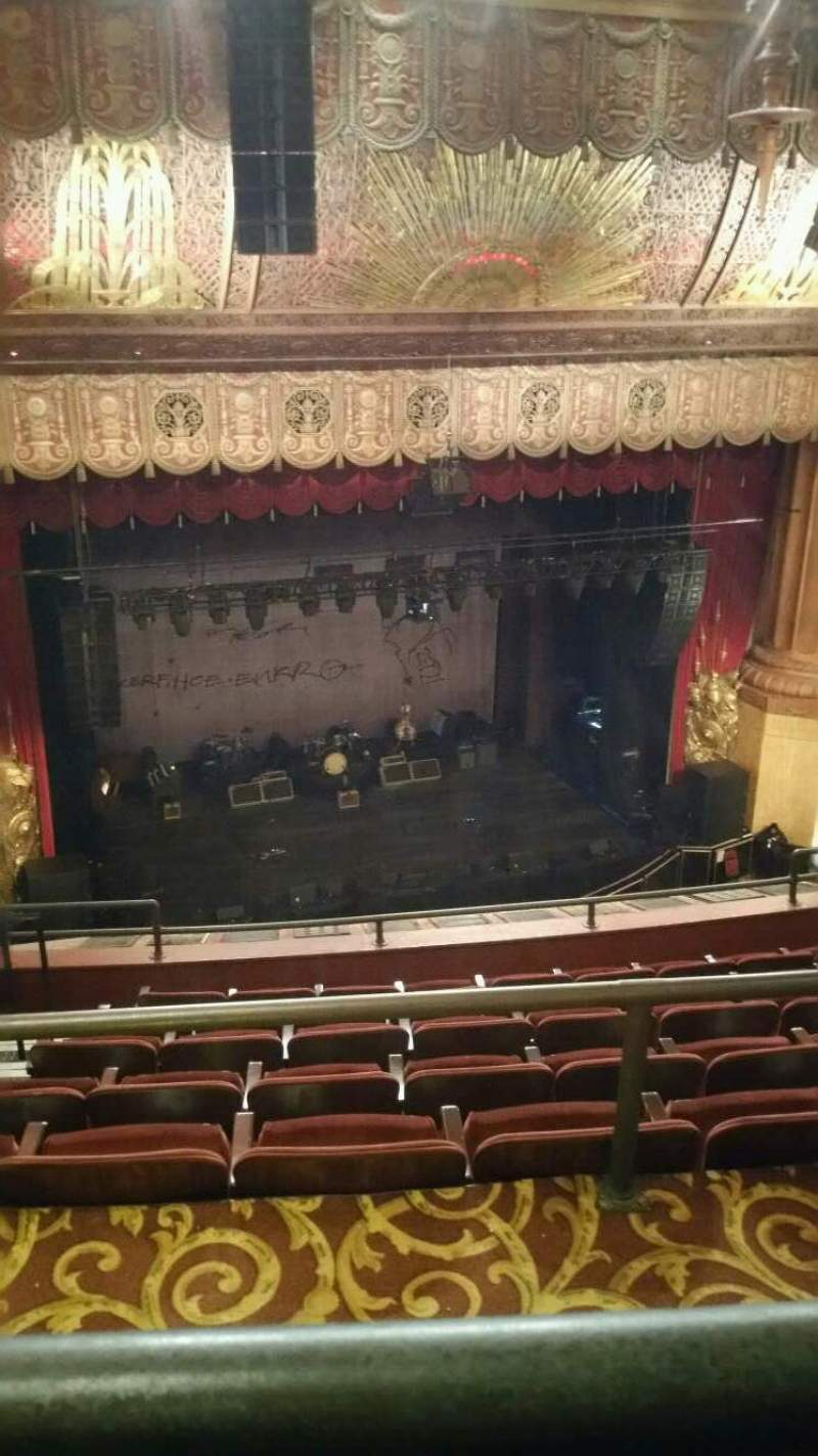 Seating view for Beacon Theatre Section UBALC1 Row F Seat 19
