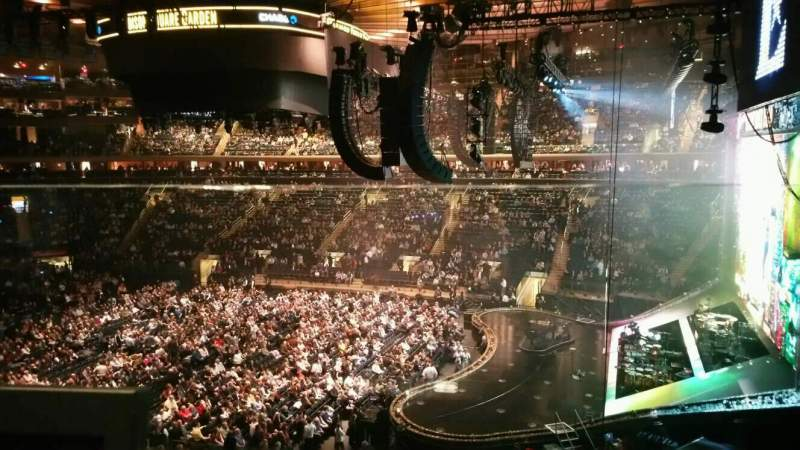 Madison Square Garden: Madison Square Garden, Section 213, Home Of New York