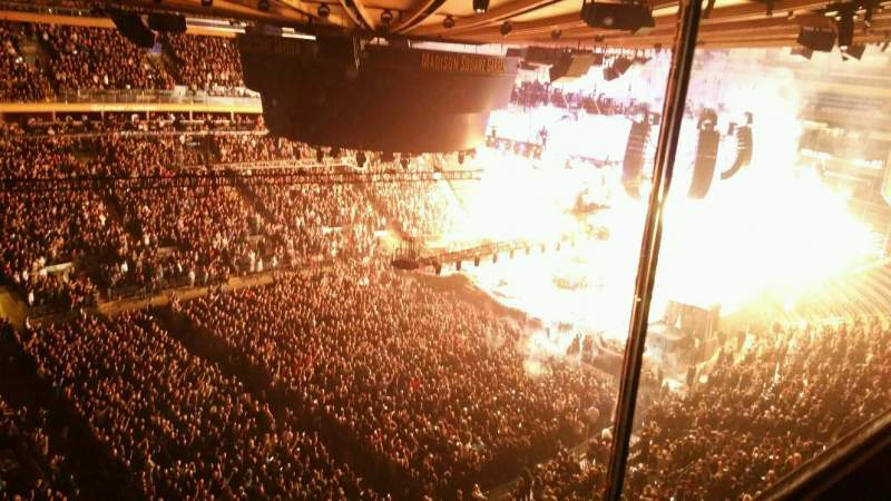 Seating view for Madison Square Garden Section 311 Row 1 Seat 6