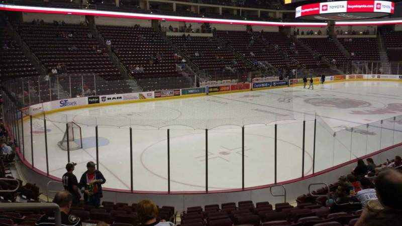 Seating view for Giant Center Section 104 Row M Seat 12