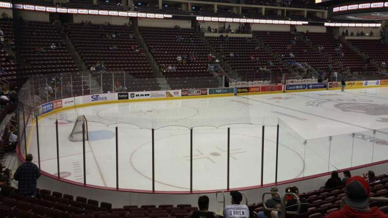Seating view for Giant Center Section 104 Row M Seat 5