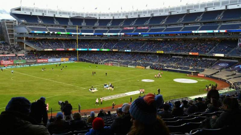 Seating view for Yankee Stadium Section 228 Row 19 Seat 24