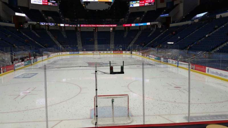Seating view for XL Center Section 122 Row K Seat 1