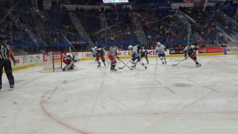 Seating view for XL Center Section 118 Row C Seat 9