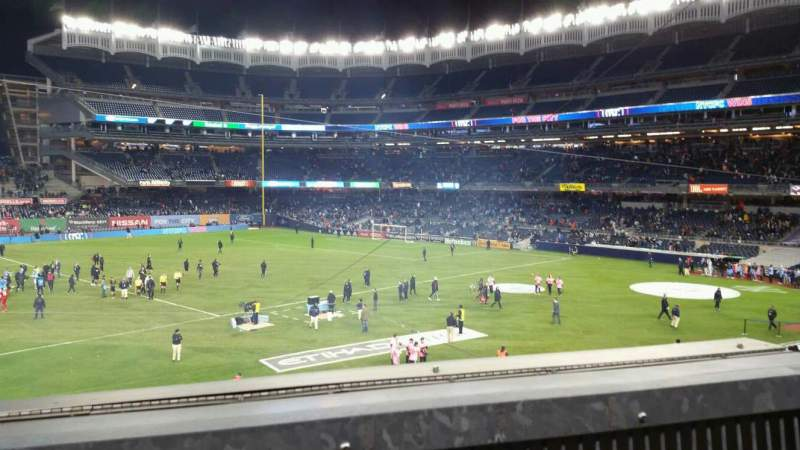 Seating view for Yankee Stadium Section 227B Row 1 Seat 3