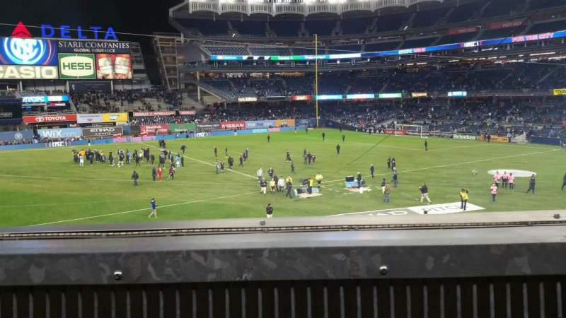 Seating view for Yankee Stadium Section 227B Row 1 Seat 2