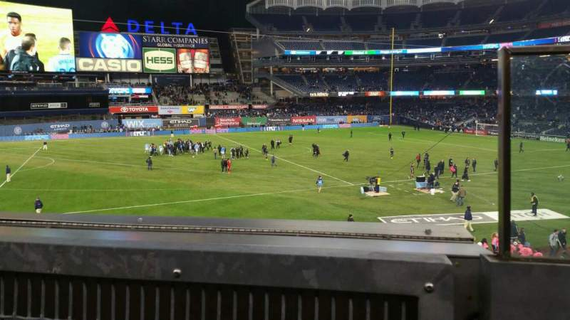 Seating view for Yankee Stadium Section 227B Row 1 Seat 1