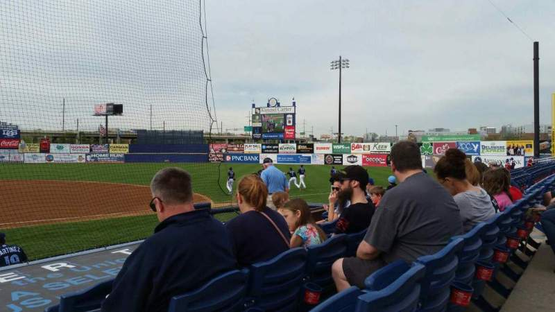 Seating view for Frawley Stadium Section 8 Row 4 Seat 1