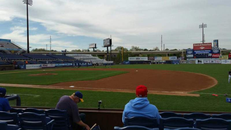 Seating view for Frawley Stadium Section 5 Row 6 Seat 10