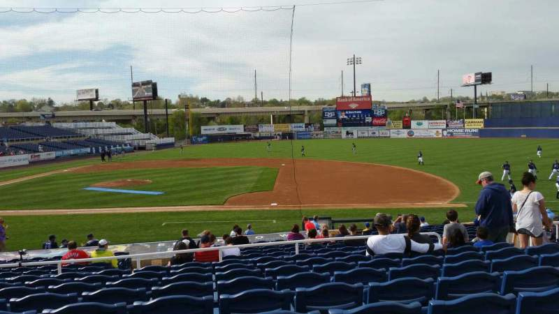 Seating view for Frawley Stadium Section B Row 9 Seat 9
