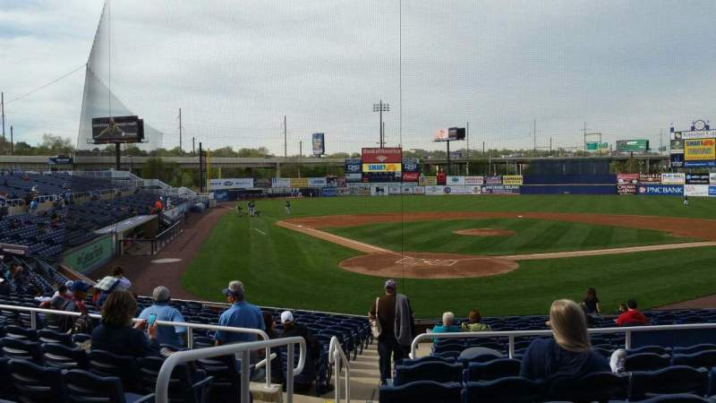 Seating view for Frawley Stadium Section F Row 7 Seat 15