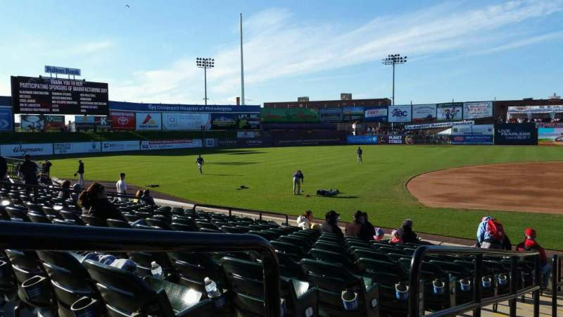 Seating view for Clipper Magazine Stadium Section 22 Row M Seat 10