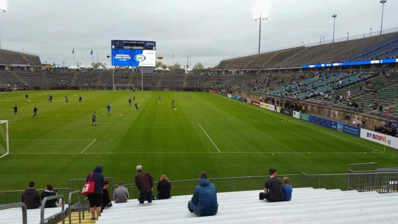 Seating view for Rentschler Field Section 112 Row 15 Seat 23
