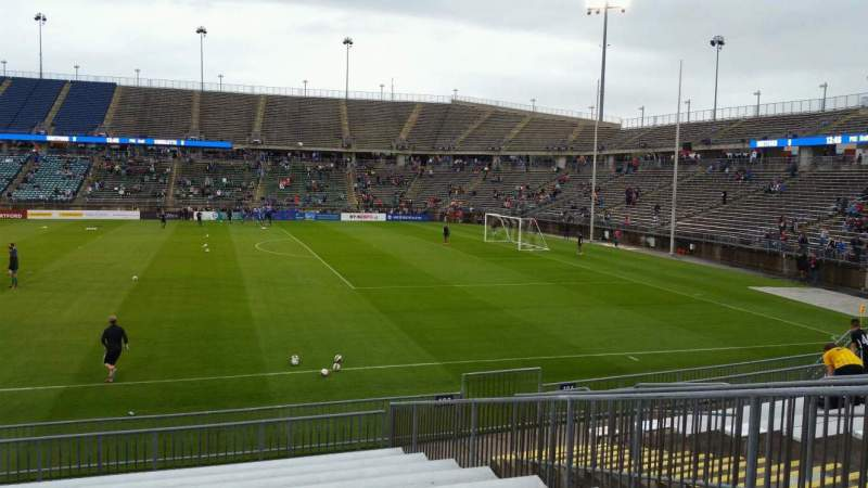 Seating view for Rentschler Field Section 103 Row 13 Seat 11