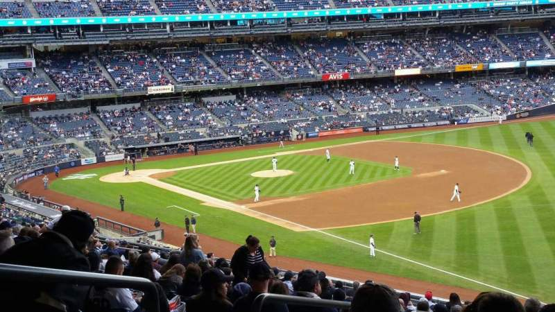 Seating view for Yankee Stadium Section 210 Row 22 Seat 20