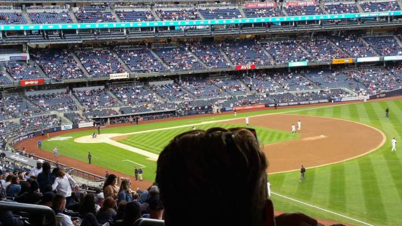 Seating view for Yankee Stadium Section 210 Row 22 Seat 19
