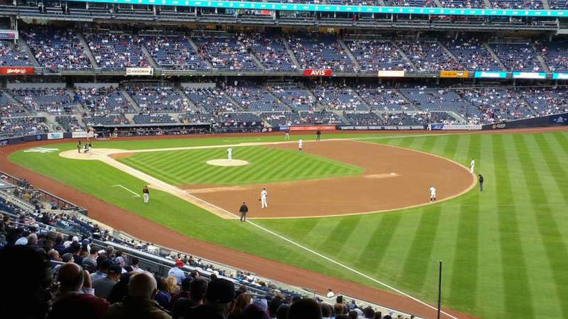 Seating view for Yankee Stadium Section 210 Row 22 Seat 5