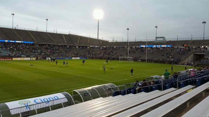 Seating view for Rentschler Field Section 140 Row 11 Seat 20