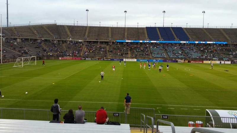 Seating view for Rentschler Field Section 139 Row 13 Seat 1