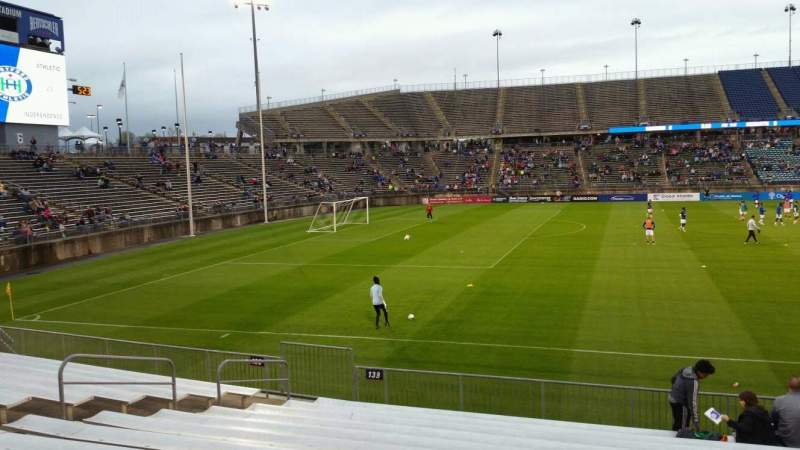 Seating view for Rentschler Field Section 139 Row 13 Seat 10