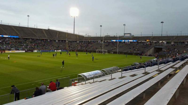 Seating view for Rentschler Field Section 139 Row 13 Seat 22