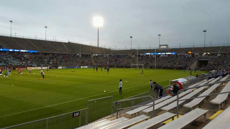 Seating view for Rentschler Field Section 138 Row 7 Seat 12