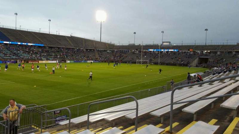 Seating view for Rentschler Field Section 137 Row 9 Seat 7