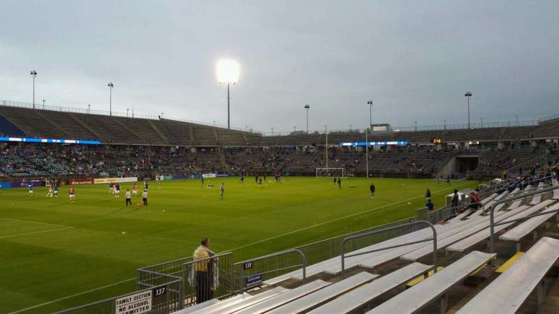 Seating view for Rentschler Field Section 137 Row 9 Seat 14