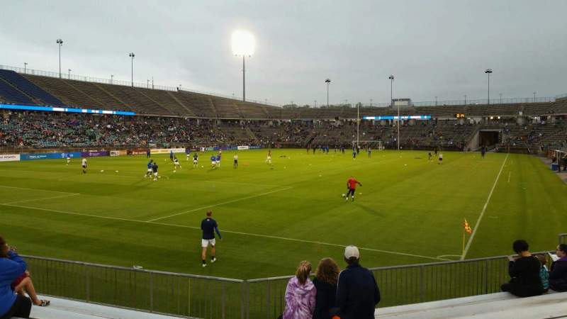 Seating view for Rentschler Field Section 135 Row 8 Seat 18