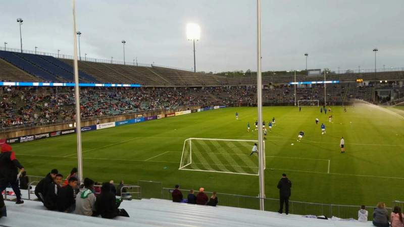 Seating view for Rentschler Field Section 132 Row 19 Seat 10
