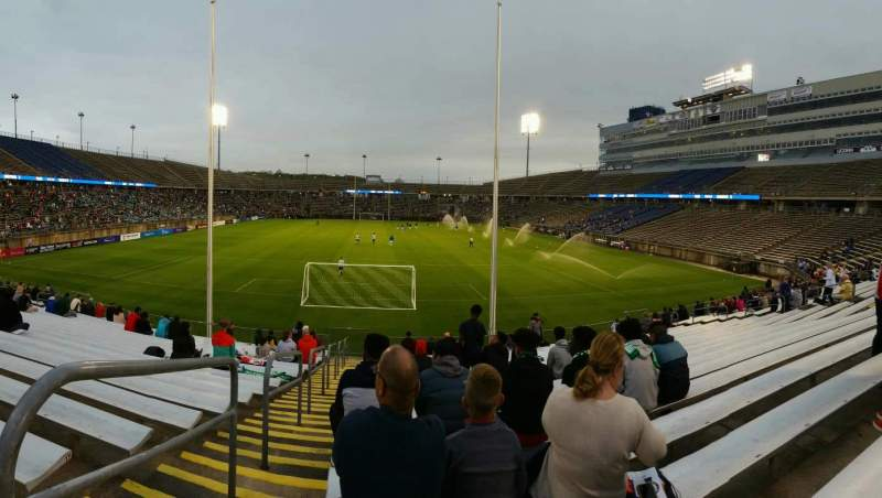 Seating view for Rentschler Field Section 132 Row 19 Seat 29