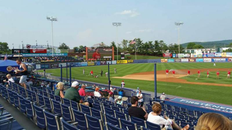Seating view for FirstEnergy Stadium (Reading) Section Box 9 Row 20 Seat 1