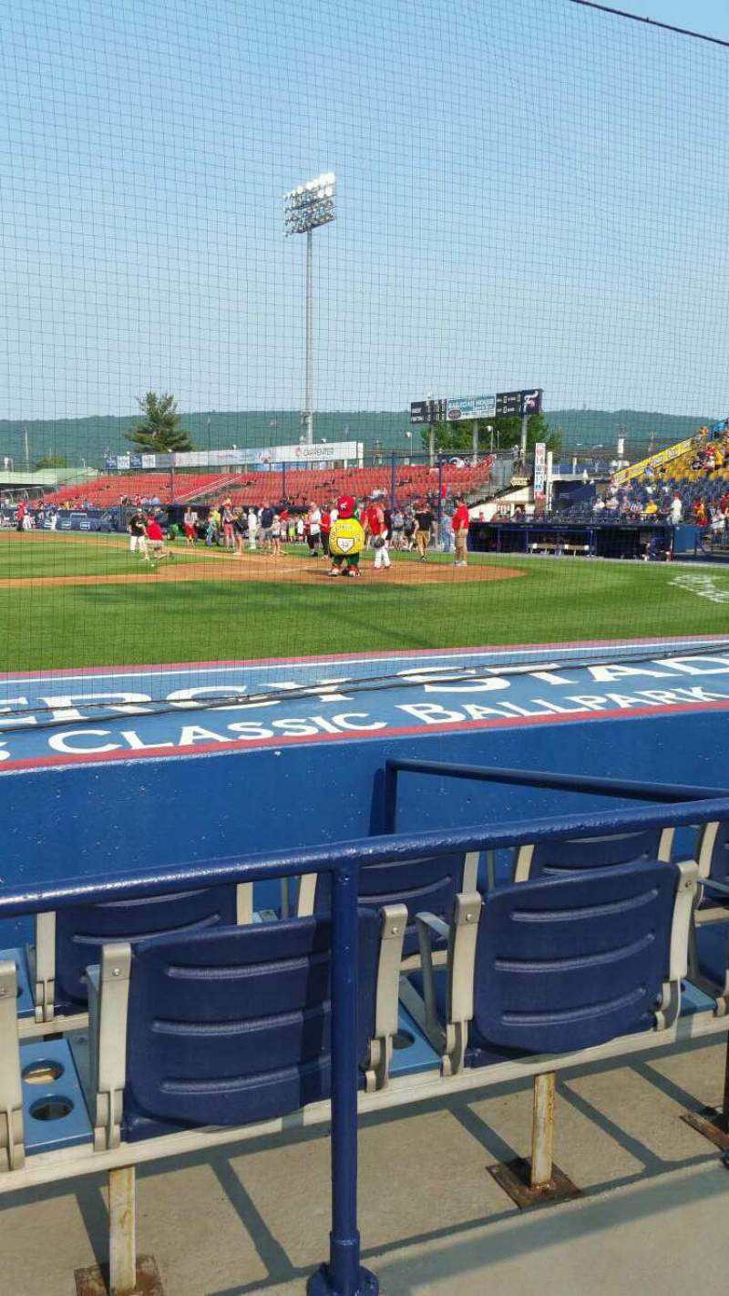 Seating view for FirstEnergy Stadium (Reading) Section Box 9 Row 5 Seat 9