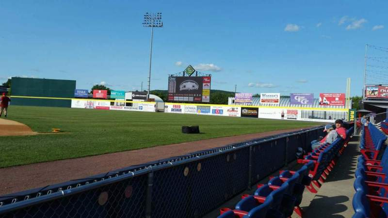Seating view for NYSEG Stadium Section 14 Row B Seat 1