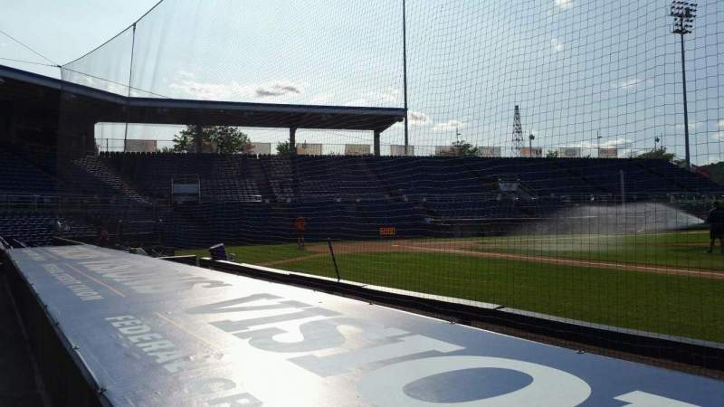 Seating view for NYSEG Stadium Section 12 Row D Seat 8
