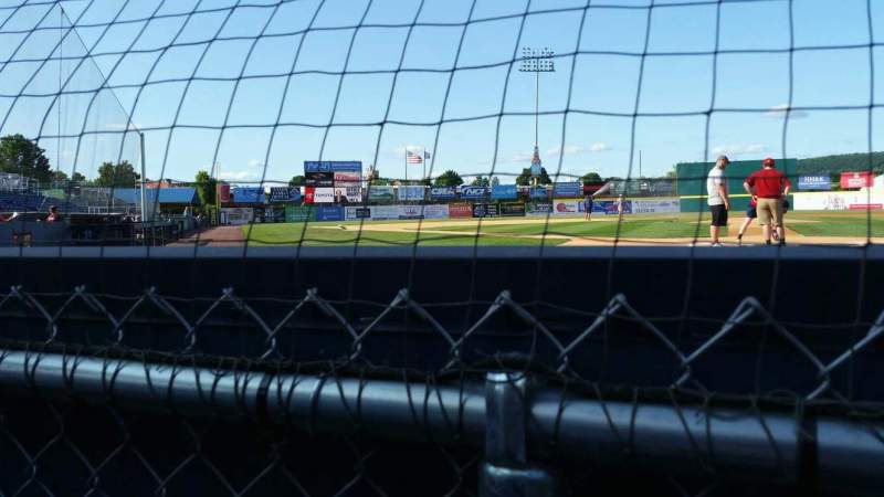 Seating view for NYSEG Stadium Section 1 Row A Seat 1