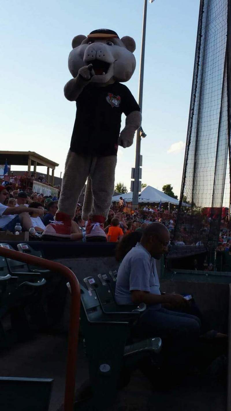 Seating view for Joseph L. Bruno Stadium Section 110 Row A Seat 15