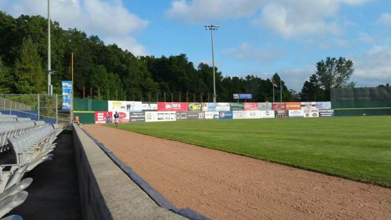 Seating view for Dodd Stadium Section 19 Row AA Seat 4