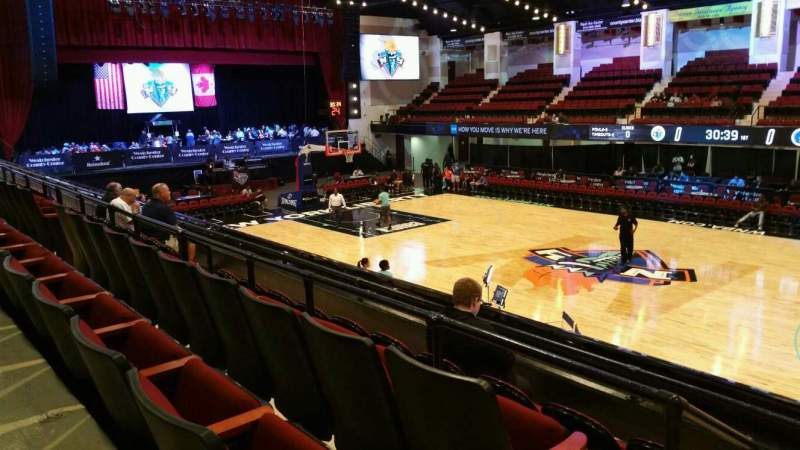 Seating view for Westchester County Center Section 50LFT Row D Seat 50
