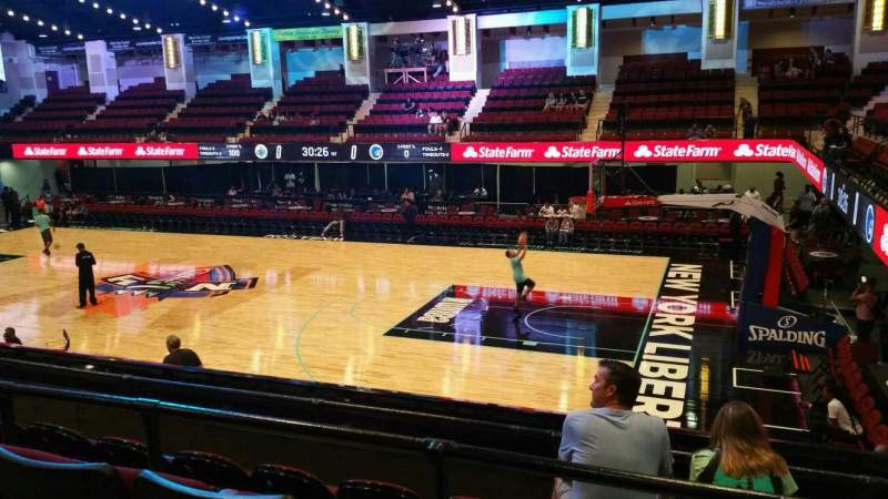 Seating view for Westchester County Center Section 50LFT Row D Seat 59