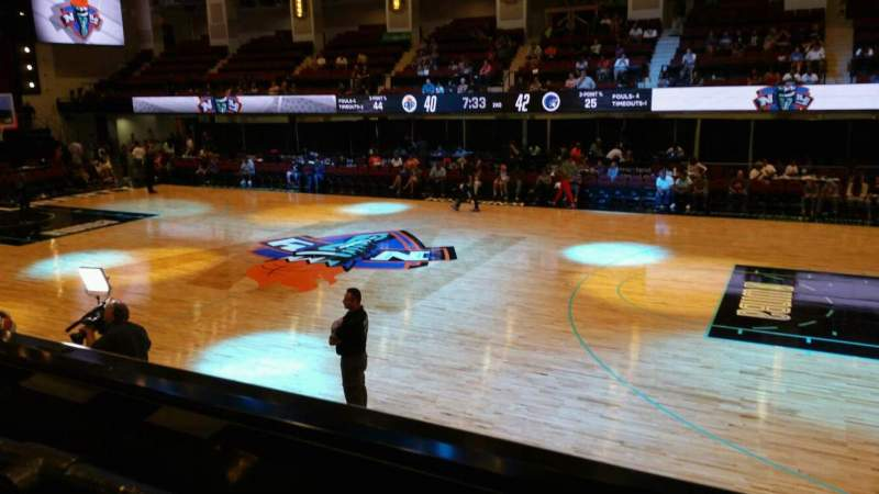Seating view for Westchester County Center Section 40LFT Row A Seat 49