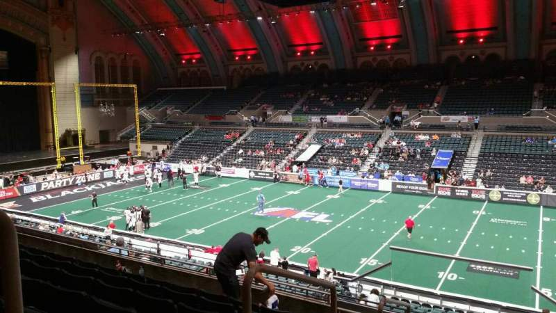 Seating view for Boardwalk Hall Section 208 Row G Seat 1