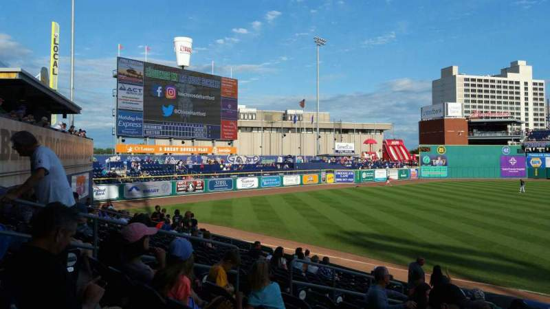 Seating view for Dunkin' Donuts Park Section 119 Row P Seat 8