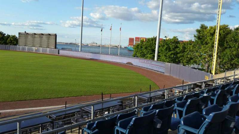 Seating view for Richmond County Bank Ballpark Section 17 Row N Seat 24
