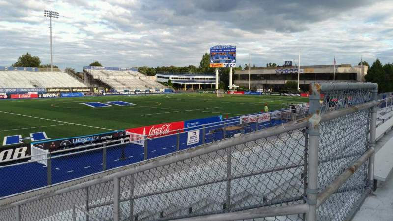 Seating view for James M. Shuart Stadium Section 6 Row 10 Seat 26