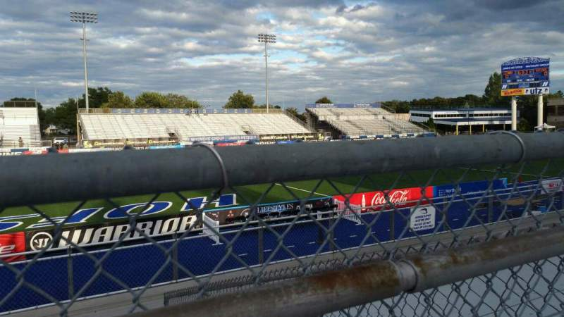 Seating view for James M. Shuart Stadium Section 6 Row 10 Seat 22